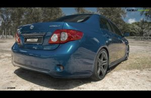 Toyota Corolla_rearview by yasiddesign