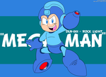 DLN-001 Rock 'Mega Man' Light by LuigiStar445