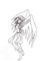 Real color wings sketch by sapphire-night