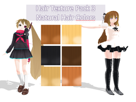 Natural Hair Color Pack + DL by AI-Pyon