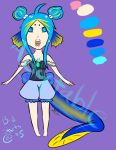 Adoptable Eel Girl Auction by WhatIsThis