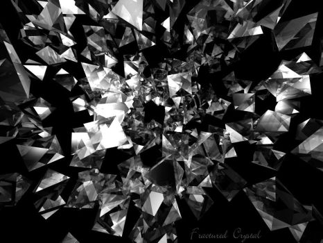 Fractured Crystal by calamarain