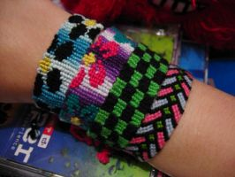 Friendship Bracelets by cadillacphunque
