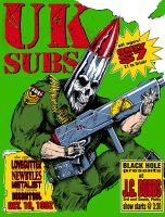 UK Subs flyer - colorized by yummytacoburp69