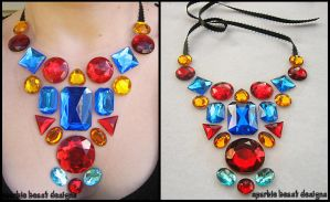 Primary Color Necklace by Natalie526