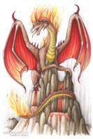 Elements - Fire Dragon by Dragarta