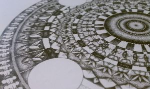 New mandala progress 2 by meathive