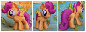 Scootaloo plushie by Extra-Fenix