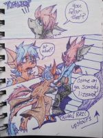 The Human Complex pg7 by DreagonArchives