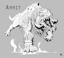 Project Pantheon: Ammit by A3DNazRigar
