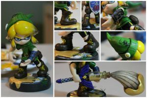 Custom 'Linkling' Amiibo | Detail Shots by PixelCollie