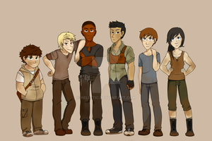 Gladers by Heliatic