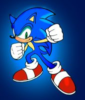 Sonic the Hedgehog Colors by CartoonWatch