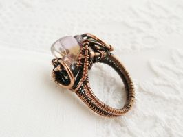 Ametrine ring by UrsulaOT