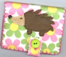 Hedgehog Card Holder by RyuuseiHime