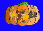 Rocky and Bullwinkle Halloween by TheSkaldofNvrwinter