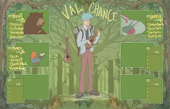 PKMNBiome - Val Chance - Forest Biome by theKampe