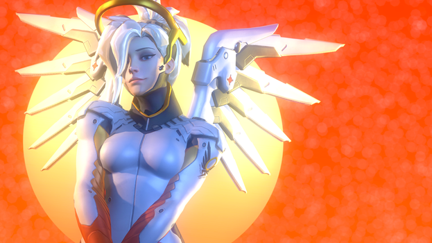 Another Peice of Mercy Art by Entertain3r