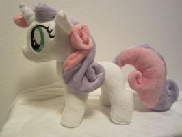 my little pony sweetie belle plush by Little-Broy-Peep