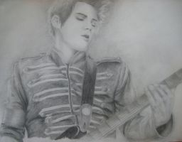 Mikey Way II by iWillTakeYourJello