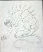 Guardian of the Dragons -WIP by CyberneticAnubian