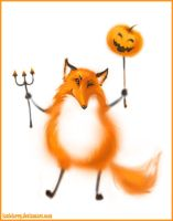 Halloween. Fox by LouieLorry
