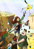 GravityFalls by Chouly-only