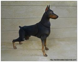 Doberman bjd 01 by leo3dmodels