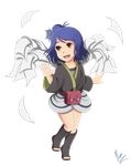 Konan Animation-Little Angel  by xXUnicornXx