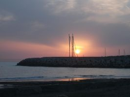 tramonto vadese by LilDash