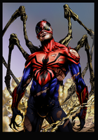 Superior Spiderman colors by MaxV1be