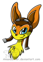 Daxter headshot by Amandaxter