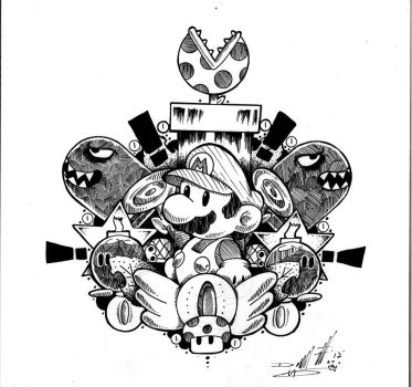 Mario Crest by paintchips86