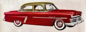 age of chrome and fins : 1952 Ford by Peterhoff3