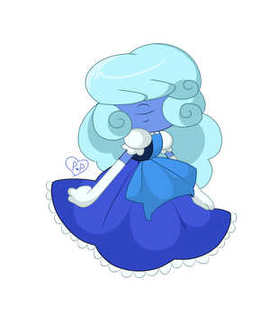 Sapphire thing by Pastel-Pow