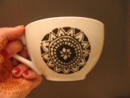 Henna Teacup 1 by Nomandy
