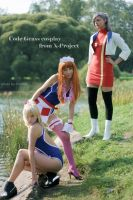 CODE GEASS: Swim Club Girls by KoujiAlone
