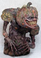 Demon Of The Harvest Painted1 by Blairsculpture