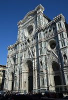 Florence cathedral by Trynnie