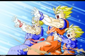 Family Kamehameha by Elyas11