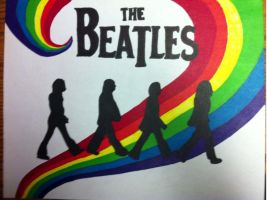 The Beatles by Jerrbuscus