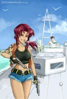 Black Lagoon by StrawberryQuincy