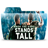 When The Game Stands Tall Movie Folder Icon by ThaJizzle