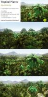 Unity: Tropical Plants by Nobiax