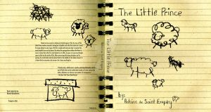 The Little Prince Book Cover 1 by Bezmo