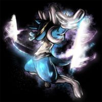 Lucario by Yilx