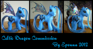 Commission Celtic Dragon by Epona80