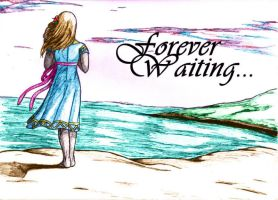 Forever Waiting...:Color: by LittleMarin