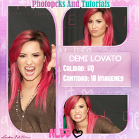 Photopack Demi Lovato by AleesitaEditions