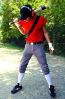 Cosplay TF2 Scout 2 by TheChungKingExpress